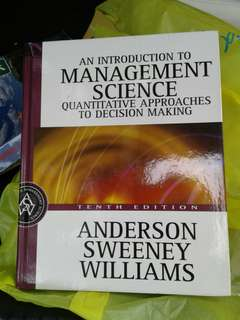 Management Science $5