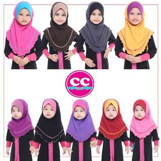 Tudung instant girl