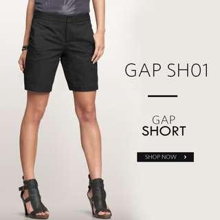 GAP SH 01 WOMEN BLACK SHORT