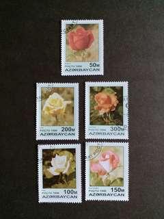 1996年 花卉已銷郵票