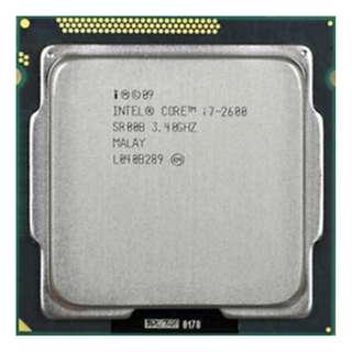 (二手)90%NEW Intel® Core i7-2600 LGA1155 CPU