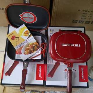 Teflon Double Pan 32Cm Kulit Jeruk Happy Call Original Anti Gores