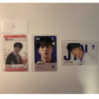 bts jin card
