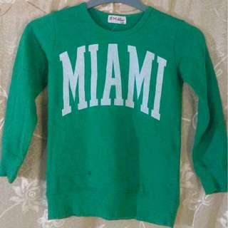 #20under Miami Green Sweater