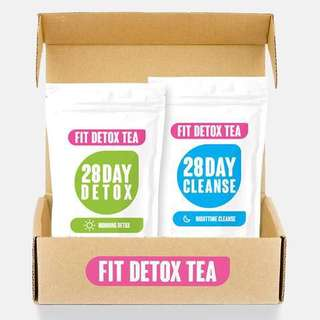 Fit detox tea day and night