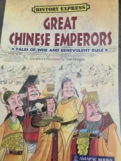 Greate chinese emperors COMICS