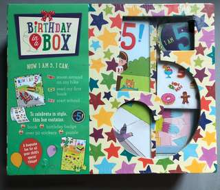BIRTHDAY IN A BOX (I AM 5!)