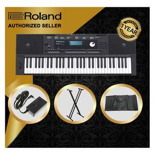 The Pianist Studio   Authorized Seller - Roland E-X20 61 Keys Arranger Keyboard Piano with Keyboard Stand and Keyboard Bag Singapore Sale