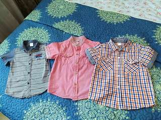 Shirts for 3-5 yrs old boys