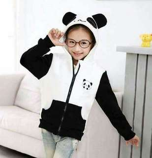 RESTOCK:BEST SELLER PANDA JACKET FOR KIDS *1 color *fabric:thick cotton *free size:fit S to L frame