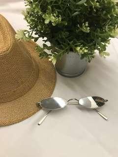 Kaca Mata OOTD Small Silver