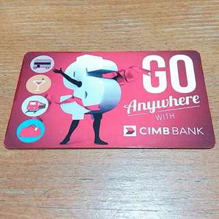Ezlink Card from CIMB