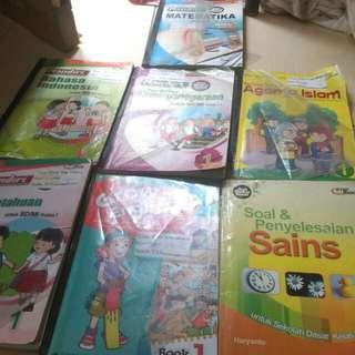 Buku paket kelas 1