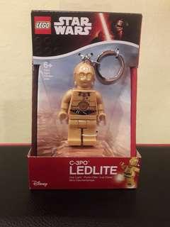 LEGO x STAR WARS LEDLITE Keychain (C-3PO)
