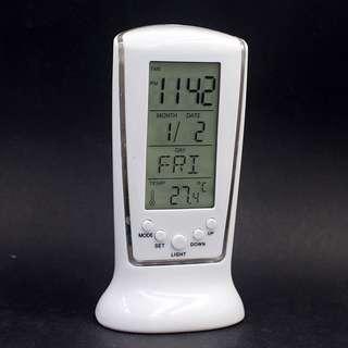Desk Kids LED Light Gift Alarm Clock Watch Square Electronic Clock Bedside