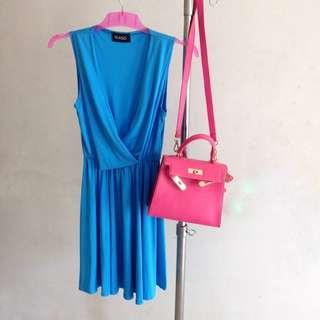 blue dress #horegajian