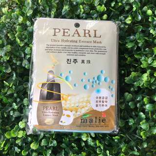 🍒 10pcs PEARL Ultra Hydrating Face Mask