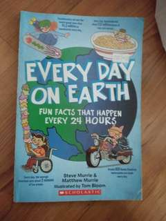 Every day on earth by scholastic