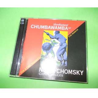 CD NOAM CHOMSKY / CHUMBAWAMBA : FOR A FREE HUMANITY . FOR ANARCHY (SHOWBUSINESS LIVE! / CAPITAL RULES) ALBUM (1997) (2xCD) ANARCHO PUNK