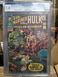 Marvel Comics Vintage Collectibles Classics Rare Key Issue Hard to find comics Graded Cgc Key Issue Graded 7.0