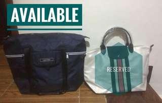Calvin Klein XL Nylon Tote Bag