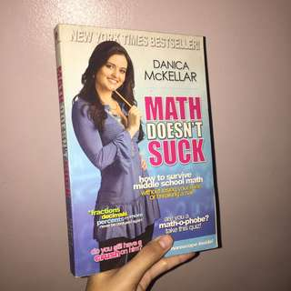 Math Doesn't Suck Book