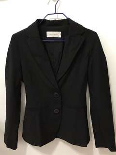 Accent blazer (black)