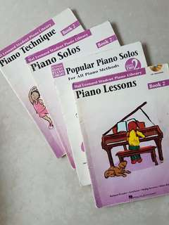 Piano Book 2 by Hal Leonard Student Piano Library