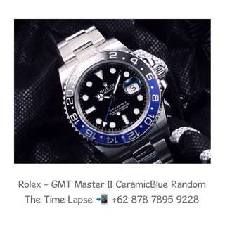 Rolex - GMT Master II Ceramic Blue Black 'Random'