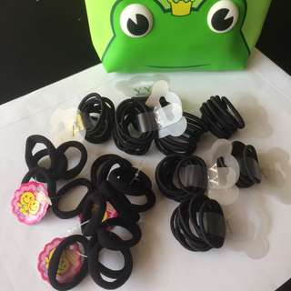 Hair band / Hair ties with casing