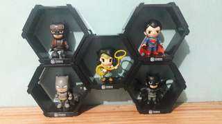 batman v superman mini figures