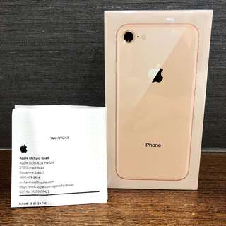 Brand new and sealed iPhone 8 GOLD 64GB