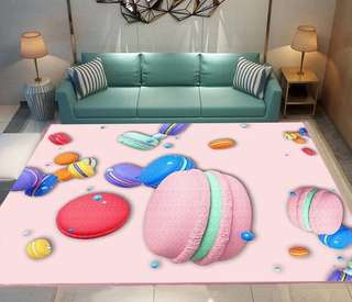 Macrons Anti Slip Large Carpet