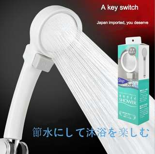 Booster top spray shower shower space aluminum super booster booster shower head