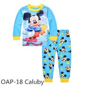 Mickey Long sleeve Pajamas