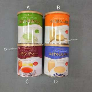 日本 和光堂 WAKODO 皇家奶茶 抹茶 咖啡牛奶 檸檬紅茶 沖泡飲品