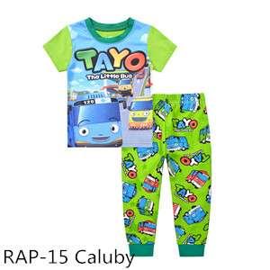 Tayo Short sleeve Pajamas