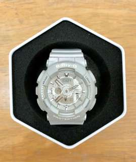 Casio BABY-G BA-110-BADR Silver Watch