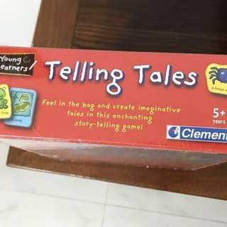 Clementoni Telling Tales Board Game
