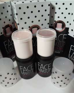 2pcs Novo Face Make Up cream n coklat