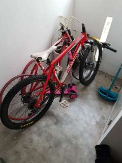 Polygon hardtail(parting out)