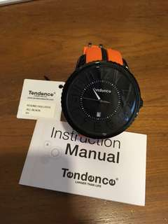 TENDENCE Watch RH all Black face with Date