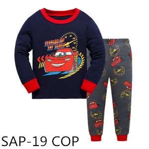 Cars Long sleeve Pajamas