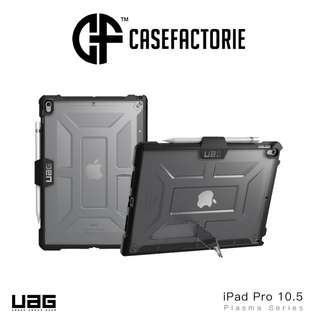 UAG Plasma Case with Apple Pencil Holder for iPad Pro 10.5