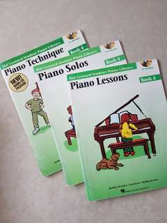 Piano book 3 by Hal Leonard Student Piano Library