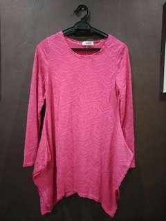 Georgette pink dress