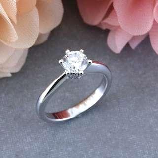 AUTIUM CEDRO Solitaire Engagement ring, Diamond Ring, 2018-01