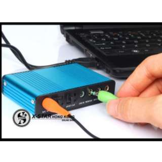 1631431 USB聲卡 光钎聲卡 筆記本外置聲卡 卡拉OK混音功能
