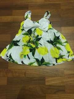 Baby girl sun dress