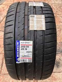 255/35/18 Pilot Sport 4 Michelin Tyre